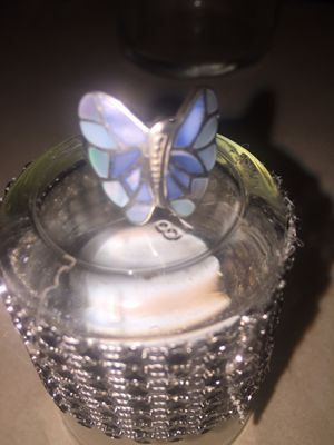Beautiful sterling silver butterfly ring size 7 for Sale in Las Vegas, NV