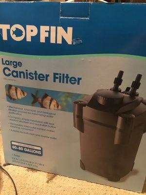 Large aquarium filter retail $169.99 for Sale in Brooks, OR