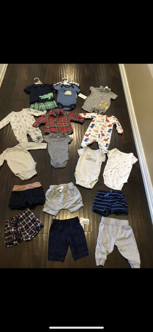 💙SIZE 0/3 MONTHS BABY BOY CLOTHING 💙 for Sale in Grand Prairie, TX