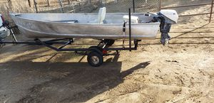 14 ft Aluminum boat **Great deal** for Sale in Nuevo, CA