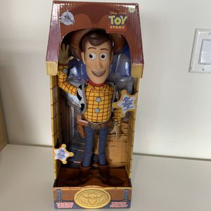 Disney Toy Story Woody Talking Action Figure for Sale in Ontario, CA