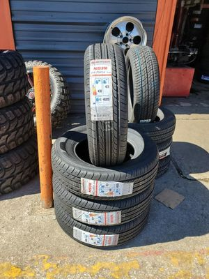 195/70/14 new tires for $240 with balance and installation we also finance {contact info removed} ask for Dorian 7637 airline dr houston TX 77037 for Sale in Houston, TX