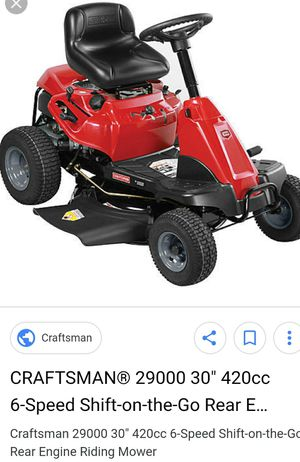 30 inch riding lawnmower for Sale in Houston, TX