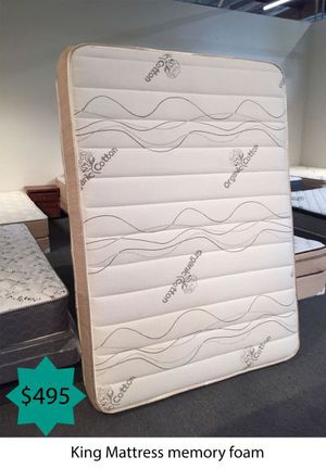 King mattress memory foam for Sale in Costa Mesa, CA