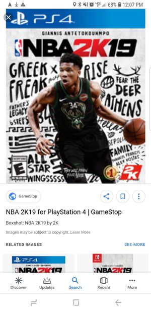 NBA 2K19 PS4 for Sale in Tampa, FL