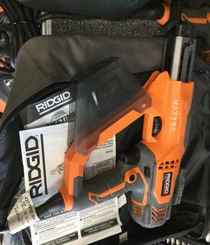 Rigid nail gun corded in soft case for Sale in San Diego, CA