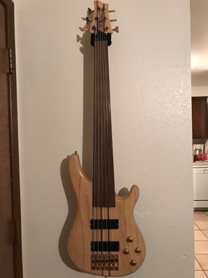 Brice 6 String Fretless Bass guitar for Sale in Henderson, NV