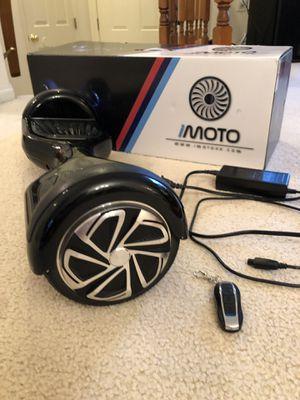 IMOTO hover board for Sale in NO POTOMAC, MD