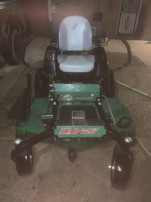 Bobcat zero turn 52 in mowing deck Kawasaki fx651v for Sale in Bellwood, IL