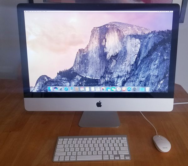 """27"""" iMac upgraded!! Keyboard/mouse included"""