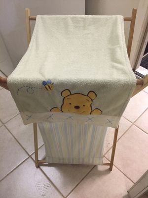 Kids clothes Hamper Winnie the Poo theme for Sale in Richardson, TX
