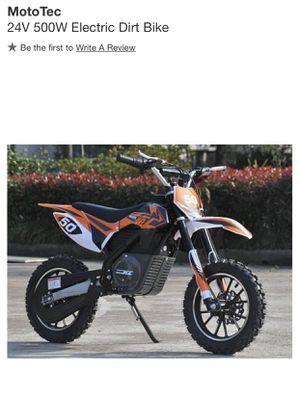 Electric dirt bike for Sale in Woodbridge, VA