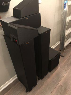 Klipsch 5.1 Speaker Setup for Sale in Leander, TX