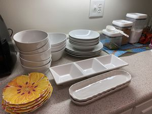 Plates and dishes set for Sale in Dracut, MA