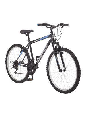 "Roadmaster Granite Peak Men's Mountain Bike, 26"" wheels, Black/Blue for Sale in Everett, MA"