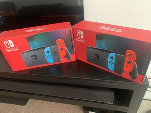 Nintendo switch 2020 BRAND NEW ..newest model with extended battery for Sale in Fraser, MI