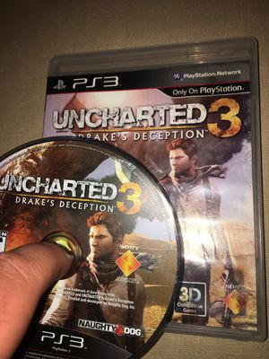 UNCHARTED 3 Drake's Deception PS3 for Sale in Everett, WA