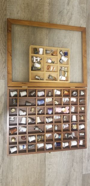 Sewing thimble collection set (100) pieces for Sale in San Jose, CA