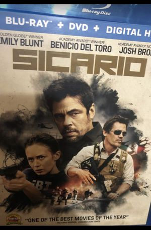 Blu ray- SICARIO for Sale in Tamarac, FL