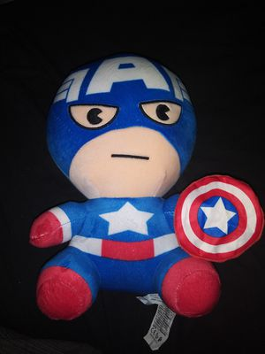 Minico Captain America Plush action figure toy for Sale in Phoenix, AZ
