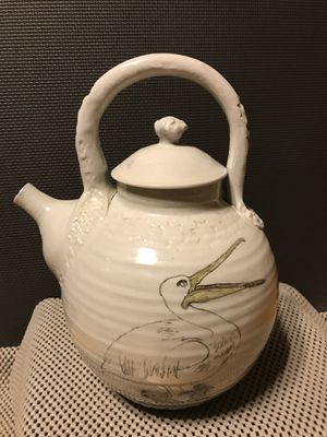 Handmade Oriental Porcelain Teapot for Sale in Kennesaw, GA