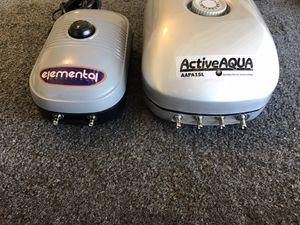Active Aqua and Elemental (Air Pumps) for Sale in Stockton, CA