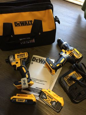 DeWalt 20v Brushless Impact and Hammerdrill for Sale in Temecula, CA