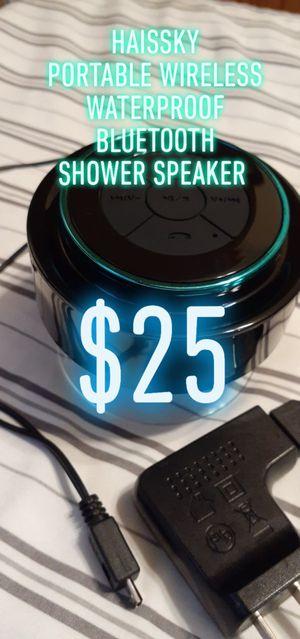 🚿$25🚿 HAISSKY 🎧 PORTABLE 🎧 WIRELESS 🚿WATERPROOF🚿 BLUETOOTH 🛁 SHOWER 🛁SPEAKER for Sale in Denver, CO