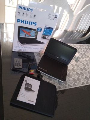 "Phillips 9 "" DVD player for Sale in Orland Park, IL"