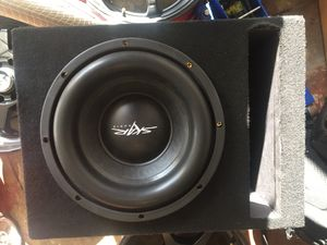 10inc subwoofer and amps for Sale in Oakland, CA