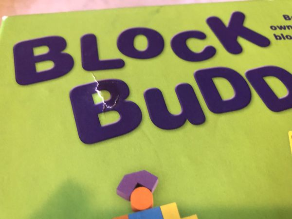 Block buddies game board game puzzle children kids