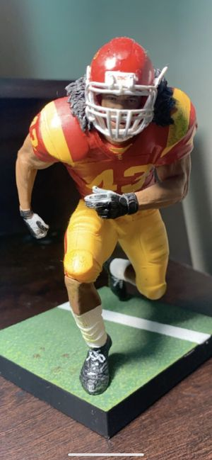 Troy Polamalu Mcfarlare Action figure NCAA college football for Sale in Argyle, TX