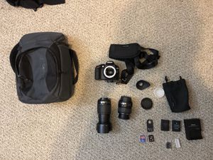 Nikon D3200 SLR Camera for Sale in Lynnwood, WA