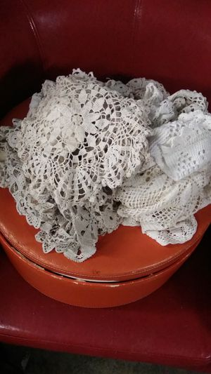 Assorted doilies for Sale in Marysville, WA