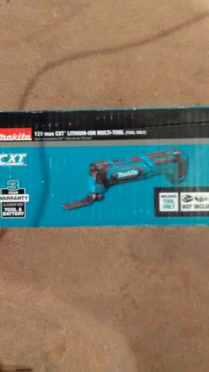 Makita 12v Max CXT lithium ion multi tool for Sale in El Cajon, CA