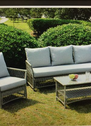 4 PC outdoor patio furniture! Sturdy! for Sale in San Antonio, TX