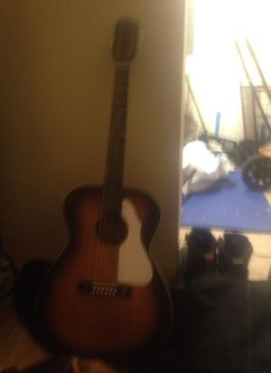 Silver tone acoustic electric guitar for Sale in Portland, OR