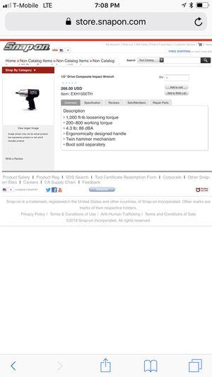 NitroCat 1250k 1/2 impact wrench for Sale in Philadelphia, PA