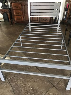 NEW twin bed frame $50 for Sale in Lancaster, CA