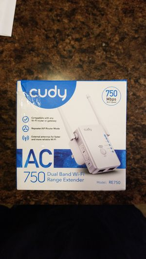 Cudy Dual Band WiFi Extender for Sale in Orrville, OH