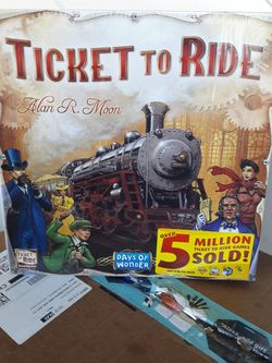 Ticket To Ride Board Game for Sale in Maywood,  CA
