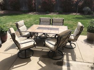 Patio Set with Table for Sale in Fresno, CA