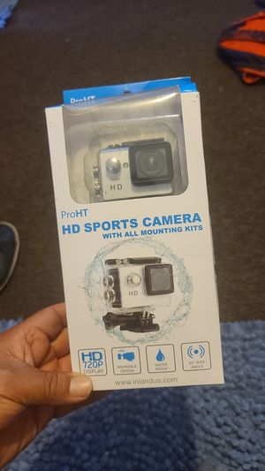 HD SPORTS CAMERA with all mounting kits for Sale in Santa Ana, CA