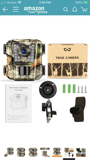 Trail camera for Sale in Albuquerque, NM