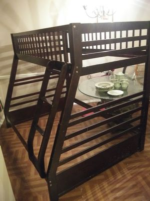 Wooden double bunk bed for Sale in Union City, GA