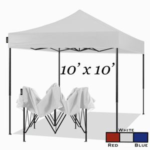 10x10 Ez Pop Up Canopy Tent Portable Heavy Duty Commercial Instant Canopies Outdoor Market Shelter 10 x 10 Canopy for Sale in Ontario, CA