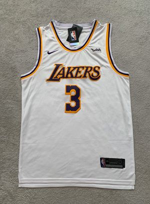 Anthony Davis #3 - Los Angeles Lakers NBA Team Jersey - Brand New Men's White Association Edition NBA Swingman Basketball Jersey - Size M / L / XL for Sale in Chicago, IL