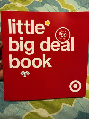 free Target baby registry coupon book for Sale in Whittier, CA
