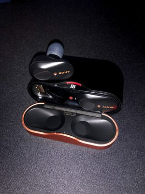 SONY WF-1000XM3 EARBUDS (MINT CONDITION) for Sale in Oceanside, CA