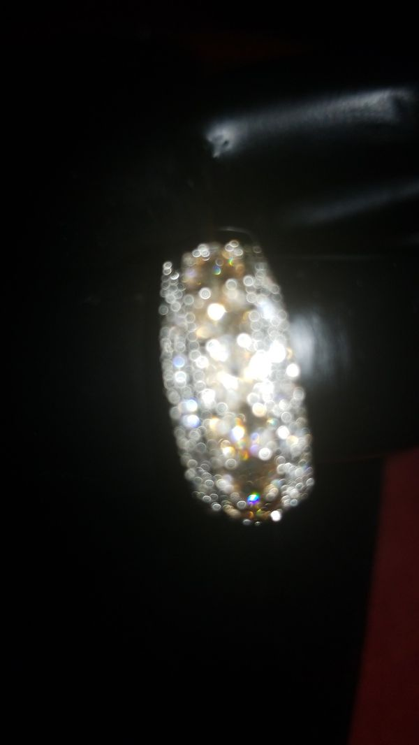 925 sterling silver plated ring zise 8